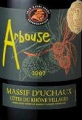 阿尔布斯干红葡萄酒(Arbouse,Massif d'Uchaux,France)