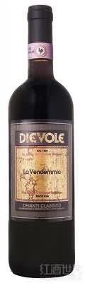 温得蜜干红葡萄酒(Dievole La Vendemmia,Chianti Classico DOCG,Italy)