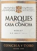 干露酒庄侯爵梅洛干红葡萄酒(Concha y Toro Marques de Casa Concha Merlot, Peumo, Chile)