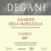 德加尼干红葡萄酒(Degani Amarone della, Valpolicella Classico, Italy)