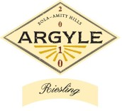 菱花雷司令半干白葡萄酒(Argyle Riesling, Willamette Valley, USA)