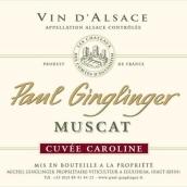 保罗琴格林卡罗琳麝香特酿干白葡萄酒(Domaine Paul Ginglinger Muscat Cuvee Caroline,Alsace,France)