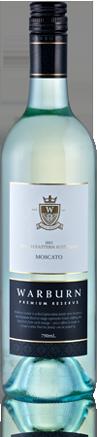 沃尔本珍藏麝香干白葡萄酒(Warburn Estate Premium Reserve Moscato,Australia)