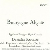 芙萝酒庄阿里高特白葡萄酒(Domaine Roulot Bourgogne Aligote,Burgundy,France)