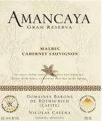 卡罗阿曼卡亚珍藏马尔贝克-赤霞珠干红葡萄酒(Bodegas Caro Amancaya Gran Reserva Malbec-Cabernet Sauvignon, Mendoza, Argentina)