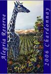 鸟与石永乐珍藏霞多丽白葡萄酒(Birdstone Winery Alegria Reserve Chardonnay,California,USA)