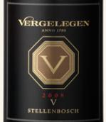 伐黑列亘V干红葡萄酒(Vergelegen V Red,Stellenbosch,South Africa)