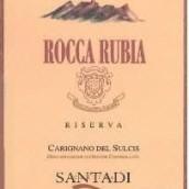 桑塔迪鲁比亚珍藏佳丽酿干红葡萄酒(Cantina di Santadi Rocca Rubia Carignano del Sulcis Riserva,...)