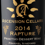 上升酒庄狂喜普里米蒂沃甜红葡萄酒(Ascension Cellars Rapture Primitivo Dessert Wine, Paso Robles, USA)