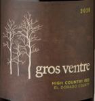 格若斯维崔高山干红葡萄酒(Gros Ventre High Country Red,El Dorado County,USA)