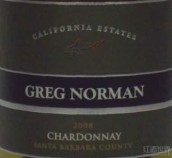 格雷格诺曼加利福尼亚霞多丽干白葡萄酒(Greg Norman California Estates Chardonnay,Santa Barbara ...)