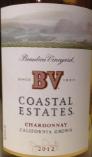 柏里欧海岸霞多丽干白葡萄酒(Beaulieu Vineyard BV Coastal Estates Chardonnay, California, USA)