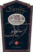 萨维兹酒庄仙粉黛干红葡萄酒(Saviez Vineyards Zinfandel,Napa Valley,USA)