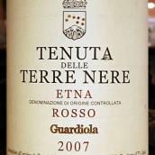 黑土瓜蒂奥拉埃特纳 桃红葡萄酒(Tenuta delle Terre Nere Guardiola Etna Rosso D.O.C,Sicily,...)