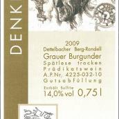 格拉泽思想者灰皮诺干型迟摘葡萄酒(Weingut Glaser Himmelstoss Denker Grauer Burgunder Spatlese ...)