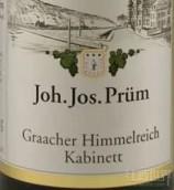 普朗格拉齐仙境园雷司令小房酒(Joh. Jos. Prum Graacher Himmelreich Riesling Kabinett, Mosel, Germany)