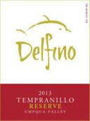 德尔菲诺珍藏丹魄干红葡萄酒(Delfino Reserve Tempranillo,Umpqua Valley,USA)