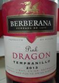 贝尔贝拉纳龙牌桃红葡萄酒(Bodegas Berberana Pink Dragon Rosado, Castilla y Leon, Spain)