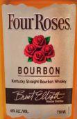 四玫瑰美国纯波本威士忌(Four Roses Bourbon Kentucky Straight Bourbon Whiskey,...)