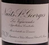 勒桦酒庄维格隆德(夜圣乔治一级园)干红葡萄酒(Domaine Leroy Les Vignerondes,Nuits-Saint-Georges Premier ...)