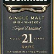 布什米尔21年爱尔兰单一麦芽威士忌(Bushmills Aged 21 Years Single Malt Irish Whiskey,Ireland)