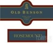 若诗庄园老本森茶色波特风格加强酒(Rosemount Estate Old Benson Fine Old Tawny Port,South ...)