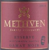 梅斯文家族珍藏佳美干红葡萄酒(Methven Family Vineyards Reserve Gamay Noir,Willamette ...)