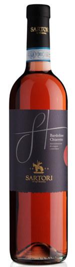 萨托利巴多利诺桃红葡萄酒(Sartori Bardolino Chiaretto Horeca DOC,Veneto,Italy)