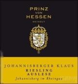 普林茨冯黑森约翰克劳斯精选雷司令甜白葡萄酒(Weingut Prinz von Hessen Johannisberger Klaus Riesling ...)