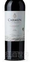 卡门顶级珍藏佳美娜干红葡萄酒(Carmen Gran Reserva Carmenere,Apalta Valley,Chile)