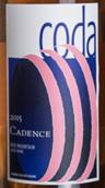 凯登斯可达品丽珠-味而多混酿桃红葡萄酒(Cadence Winery Coda Cabernet Franc-Petit Verdot,Washington,...)