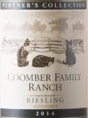 库姆伯酒庄酿酒师收藏雷司令干白葡萄酒(Coomber Family Ranch Vintner's Collection Riesling,Monterey,...)