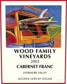伍德家族527葡萄园品丽珠干红葡萄酒(Wood Family Vineyards 527 Vineyard Cabernet Franc,Livermore ...)