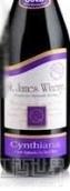 圣詹姆斯辛西安娜干红葡萄酒(St. James Winery Cynthiana, Ozark Highlands, USA)