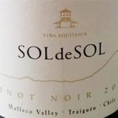 百子莲太阳霞多丽干白葡萄酒(Vina Aquitania Sol de Sol Chardonnay,Malleco Valley,Chile)