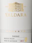 1847酒庄雅德拉珍藏西拉干红葡萄酒(1847 Wines Yaldara Reserve Shiraz, Barossa, Australia)
