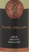 巴塞尔赛美蓉干白葡萄酒(Basel Cellars Estate Semillon,Walla Walla Valley,USA)
