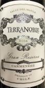 泰瑞贵族酒庄顶级珍藏佳美娜红葡萄酒(Terra Noble Gran Reserva Carmenere, Maule Valley, Chile)