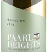 黑珍珠白诗南干白葡萄酒(Paarl Heights Chenin Blanc,Paarl,South Africa)