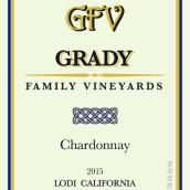 格雷迪家族酒庄霞多丽干白葡萄酒(Grady Family Vineyards Chardonnay, Lodi, USA)