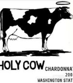 查尔史密斯神圣母牛霞多丽干白葡萄酒(Charles Smith Holy Cow Chardonnay, Columbia Valley, USA)