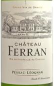 费兰干白葡萄酒(Chateau Ferran Blanc, Pessac-Leognan, France)