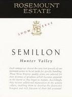 玫瑰山精选系列赛美蓉干红葡萄酒(Rosemount Estate Show Reserve Semillon,Hunter Valley,...)