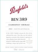 奔富BIN 389赤霞珠设拉子红葡萄酒(Penfolds BIN 389 Cabernet-Shiraz,South Australia,Australia)