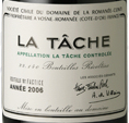 罗曼尼·康帝(拉塔希特级园)干红葡萄酒(Domaine de La Romanee-Conti La Tache Grand Cru, Cote de Nuits, France)