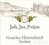 普朗格拉齐仙境园雷司令精选白葡萄酒(Joh. Jos. Prum Graacher Himmelreich Riesling Auslese, Mosel, Germany)