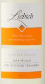 列比奇迟摘雷司令-塔明娜白葡萄酒(LiebichWein Late Picked Riesling Traminer,Barossa Valley,...)