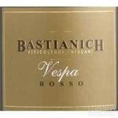 巴斯蒂安尼奇维斯帕干红葡萄酒(Bastianich Vespa Rosso Colli Orientali del Friuli, Friuli-Venezia Giulia, Italy)