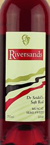 河沙迪尔赛德桃红葡萄酒(Riversands Wines Dr Seidel's Soft Red,Queensland,Australia)