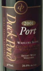 鸭塘酒庄波特酒(Duck Pond Port,Columbia Valley,USA)